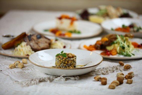 Restorano archyvo nuotr./Kūčių stalas
