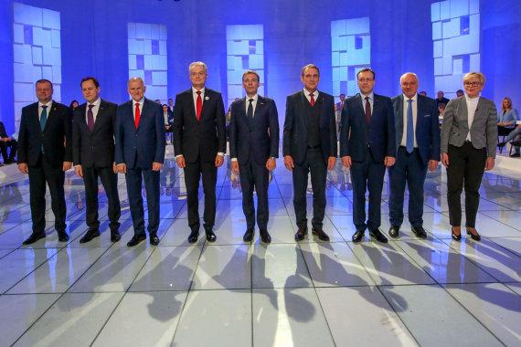 Vidmanto Balkūno / 15min nuotr./Kandidatų į Prezidentus debatai LRT studijoje