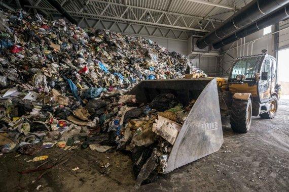 Kaunas.lt nuotr./Atliekų perdirbimo gamykla