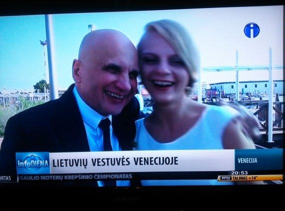 Info TV stop kadras/Gedvydas Vainauskas ir Liuminata Mickutė 3