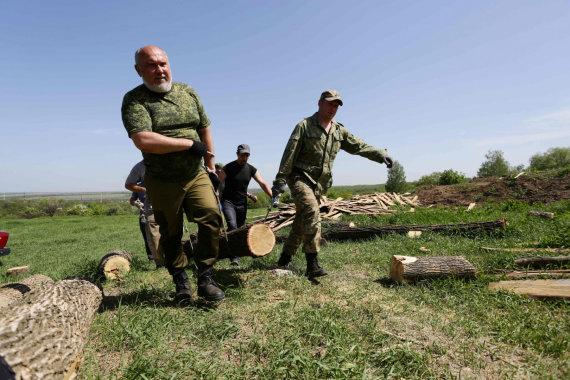 """AFP/""""Scanpix"""" nuotr./Separatistai Rytų Ukrainoje"""