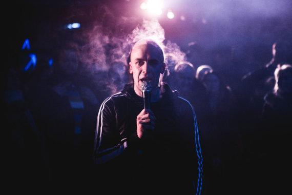 Ievos Jūraitės nuotr./Akimirka iš Vido Bareikio koncerto