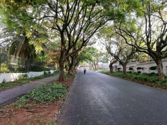V.Mikaičio nuotr./Geras Johanesburgo rajonas su tvoromis