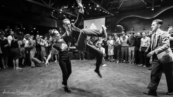 "Antano Minkevičiaus nuotr./""30 Second Swing Dance Showcase"""