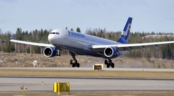 """""""Reuters""""/""""Scanpix"""" nuotr./""""Finnair"""" lėktuvas"""