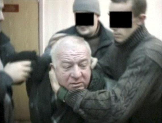 """""""Reuters""""/""""Scanpix"""" nuotr./2004 metais sulaikomas Sergejus Skripalis"""