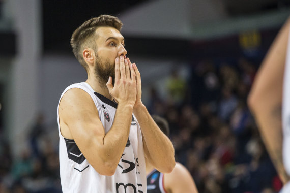 Roko Lukoševičiaus / 15min nuotr./Belgrado komandos žaidėjas Žanis Peineris