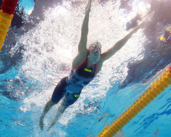 """""""Reuters""""/""""Scanpix"""" nuotr./Įspūdingiausi kadrai iš FINA pasaulio vandens sporto šakų pirmenybių Budapešte"""