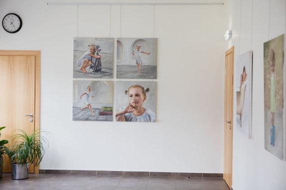 Asmeninio archyvo nuotr./Evos darbai Birštono kurhauzo galerijoje