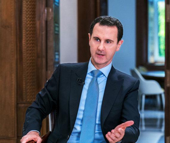 """Scanpix""/""SIPA"" nuotr./Basharas al Assadas"