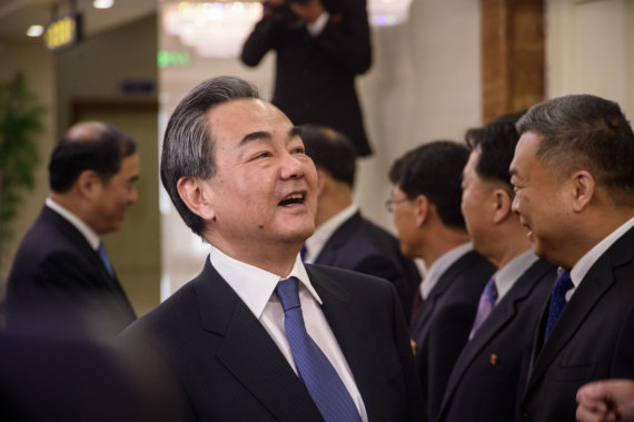 """AFP/""""Scanpix"""" nuotr./Wang Yi"""
