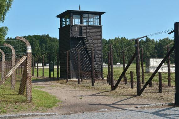 Įėjimas į Štuthofo koncentracijos stovyklą