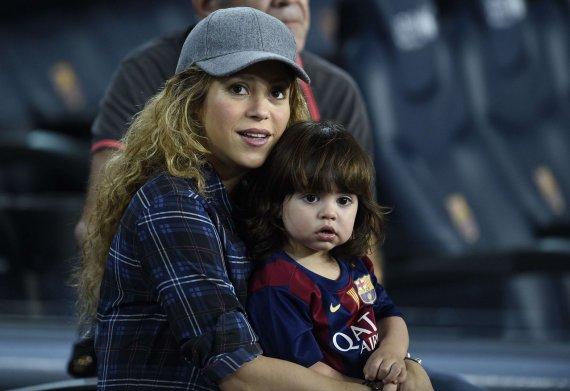 "AFP/""Scanpix"" nuotr./Shakira su sūnumi Milanu"