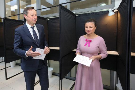 Vidmanto Balkūno / 15min nuotr./Agnė ir Artūras Zuokai