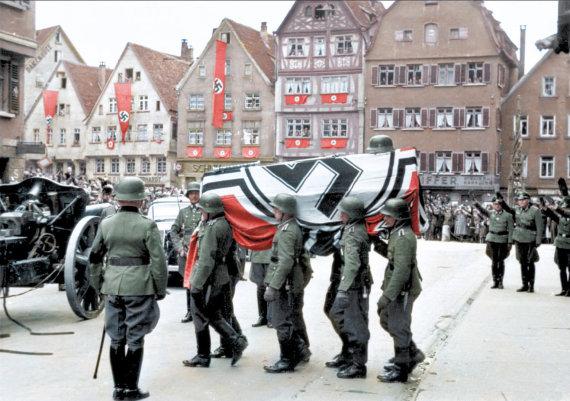 Vida Press nuotr./Nacių kariai Antrojo pasaulinio karo metu