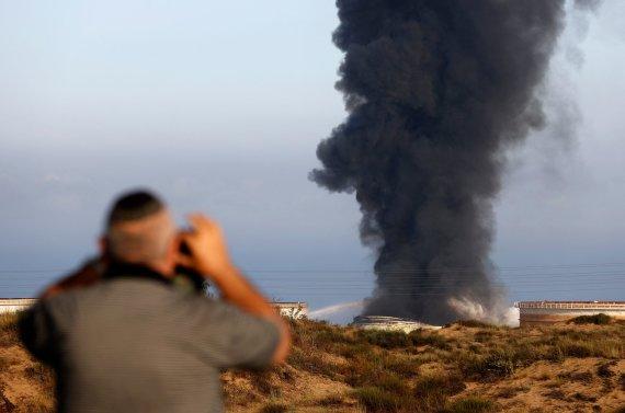 "AFP/""Scanpix"" nuotr./Apšaudyta Izraelio teritorija"