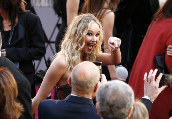 """""""Scanpix""""/AP nuotr./Jennifer Lawrence"""