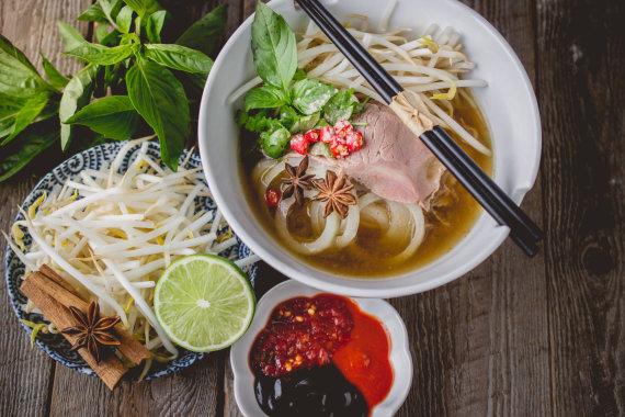 """Shutterstock"" nuotr./Vietnamietiška Pho sriuba, Vietnamas"
