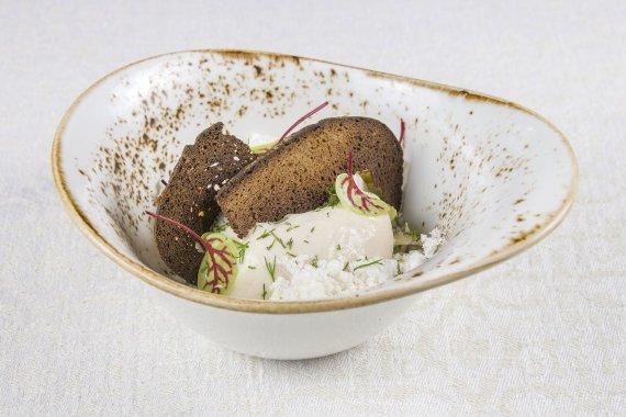 Restorano archyvo nuotr./Rūkytos skumbrės putėsiai su traiškytomis bulvėmis bei juodos duonos traškučiais