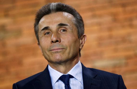 """""""Reuters""""/""""Scanpix"""" nuotr./""""Sakartvelo svajonės"""" lyderis oligarchas Bidzina Ivanišvilis"""