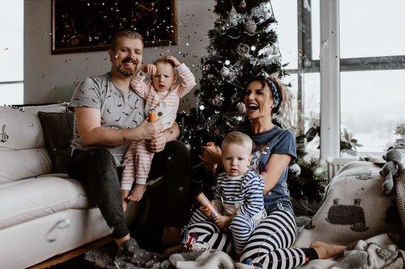 Pudra Photography nuotr. /Katažinos ir Deivydo Zvonkų šeimos nuotrauka
