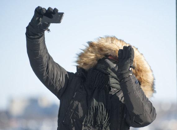 """AFP/""""Scanpix"""" nuotr./Kanadą ir JAV šiaurinius regionus sukaustė arktinis šaltis"""