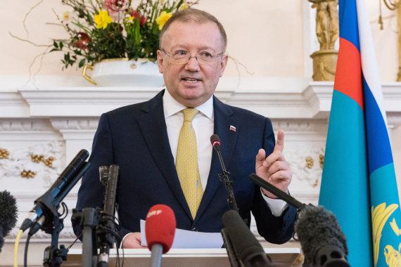 """Scanpix""/""Sipa USA"" nuotr./Rusijos ambasadorius Londone Aleksandras Jakovenka"