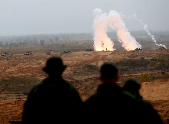 """""""Reuters""""/""""Scanpix"""" nuotr./NATO kariai Latvijoje"""