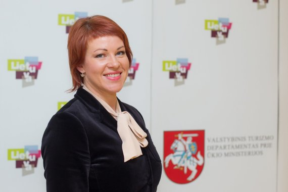 Valstybinio turizmo departamento nuotr./Naujoji VTD direktorė Jurgita Kazlauskienė