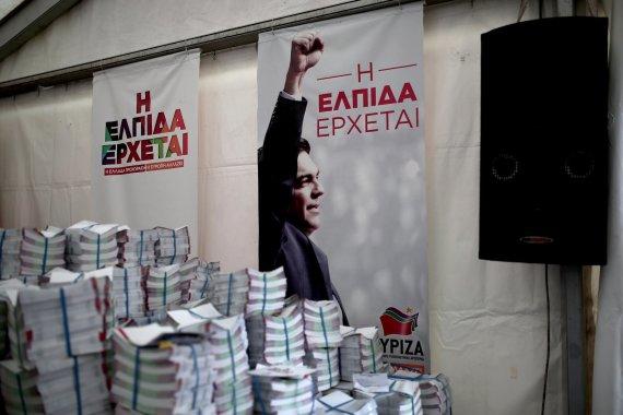 """AFP/""""Scanpix"""" nuotr./Aleksis Tsipras"""