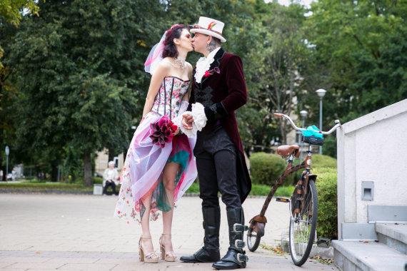 Juliaus Kalinsko / 15min nuotr./Donato Dubausko ir Gretos Barkauskaitės vestuvės
