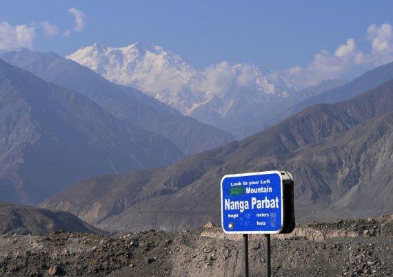 """AFP/""""Scanpix"""" nuotr./Nanga Parbato viršukalnė Pakistane"""