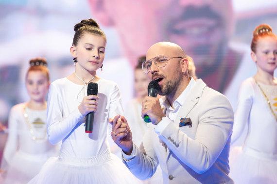 Žygimanto Gedvilos / 15min nuotr./Remigijus Žiogas su dukra