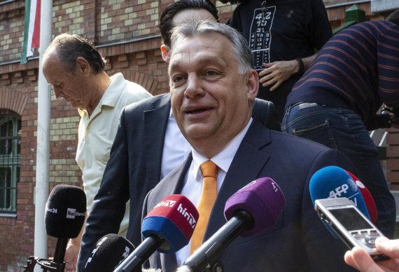 """""""Scanpix""""/""""SIPA"""" nuotr./Viktoras Orbanas"""