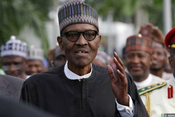 """Reuters""/""Scanpix"" nuotr./Muhammadu Buhari"