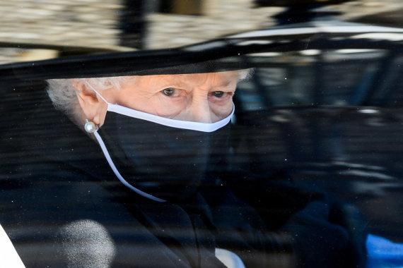 """Reuters""/""Scanpix"" nuotr./Elizabeth II princo Philipo laidotuvėse"