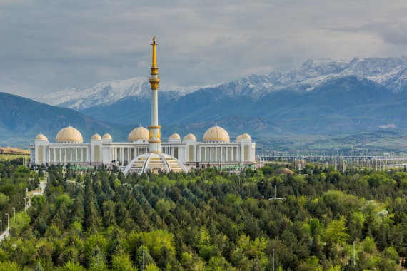123rf.com nuotr./Ašchabadas, Turkmėnija