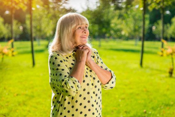 123RF.com nuotr./Vyresnio amžiaus moteris