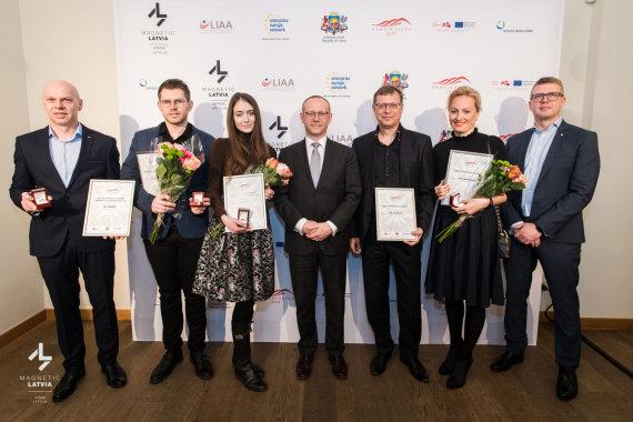 Partnerio nuotr./Lietuvos ir Latvijos partnerystė tęsiasi: išdalinti verslo apdovanojimai