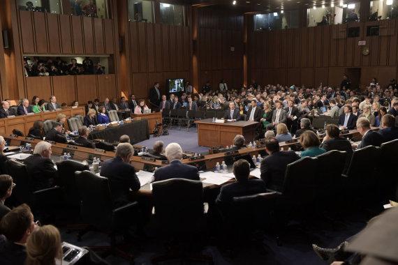 """""""Scanpix""""/""""SIPA"""" nuotr./JAV Senatas"""