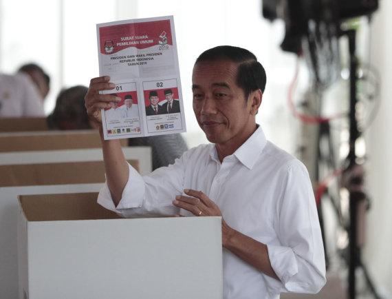 """Scanpix""/AP nuotr./Joko ""Jokowi"" Widodo"