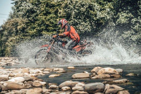 Alessio Corradini nuotr./Atostogos su motociklu Italijoje