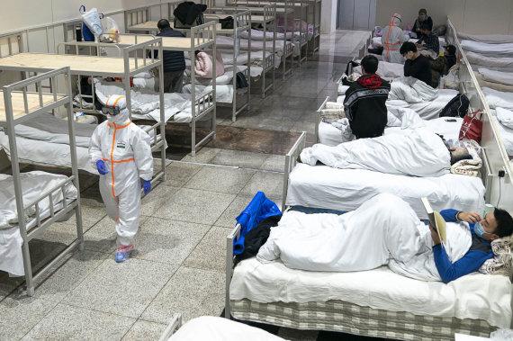 """""""Scanpix""""/AP nuotr./Kinijoje siaučiantis koronavirusas"""