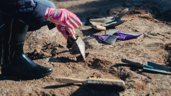 KU nuotr./Archeologiniai kasinėjimai