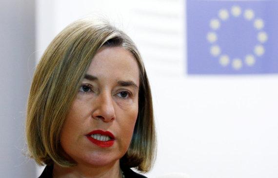 """Reuters""/""Scanpix"" nuotr./Federica Mogherini"
