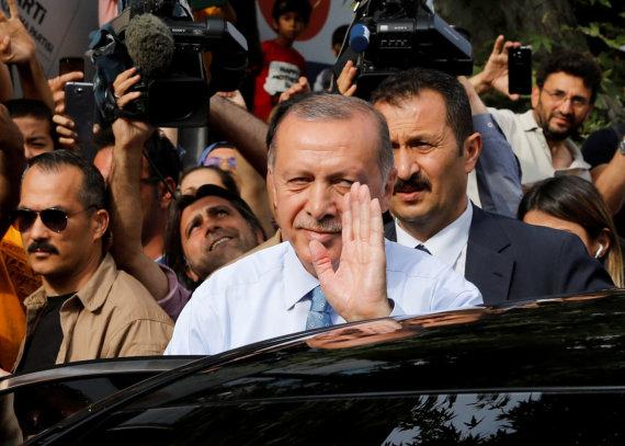 """Reuters""/""Scanpix"" nuotr./Recepas Tayyipas Erdoganas"
