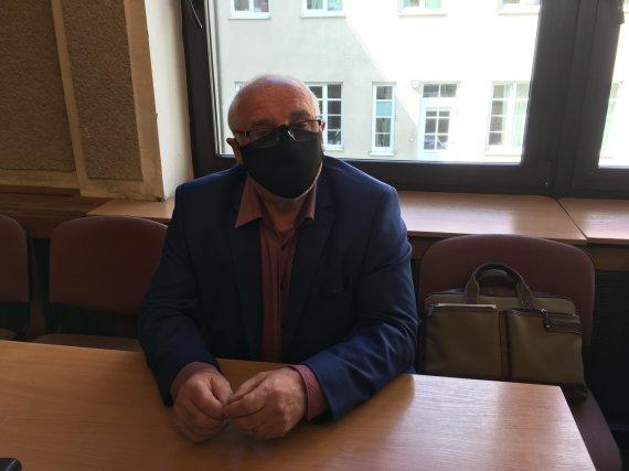 Aurelijos Jašinskienės/15min.lt nuotr./Bronius Vyšniauskas teisme