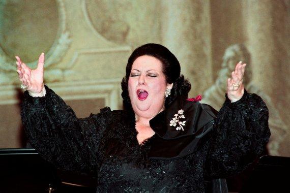 """AFP/""""Scanpix"""" nuotr./Montserrat Caballe"""