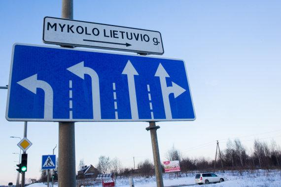 Luko Balandžio / 15min nuotr./Mykolo Lietuvio gatvė