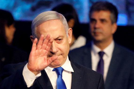 """Reuters""/""Scanpix"" nuotr./Benjaminas Netanyahu"